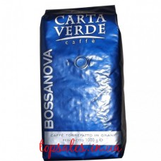 Кава в зернах CARTA VERDE Bossanova пакет 1кг, Кофе в зернах CARTA VERDE Bossanova