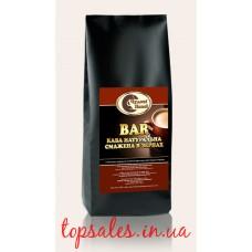"""Зернова кава BAR """"Чудові Напої"""" Відбірні зерна Ропусти (50%) та Арабіки (50%) темного обсмаження, 1 кг"""