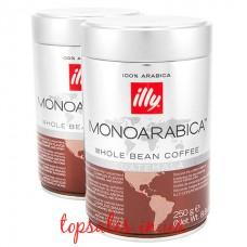 Кава в зернах ILLY GUATEMALA MONOARABICA з/б, ( Кава в зернах ILLY GUATEMALA MONOARABICA з/б,) (6*250г)