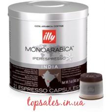 Кава мел.капс. ILLY IPSO India Monoarabica з/б, ( Кофе мол.капс. Illi IPSO India Monoarabica) (21*6,7г)*6