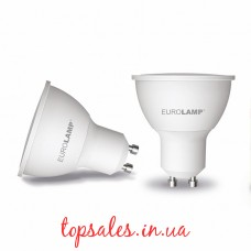 EUROLAMP LED Лампа ЕКО MR16 5W GU10 3000K (200)