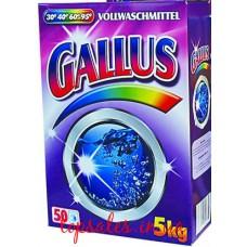 Пральний порошок Галус Концентрат Колор в картоні  (GALLUS vollwaschmittel konzentrat COIOR 5KG KARTON), 5 кг