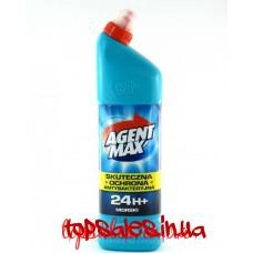 Засіб для миття унітазу Агент Макс Синій(AGENT MAX 1l blue), 1 л